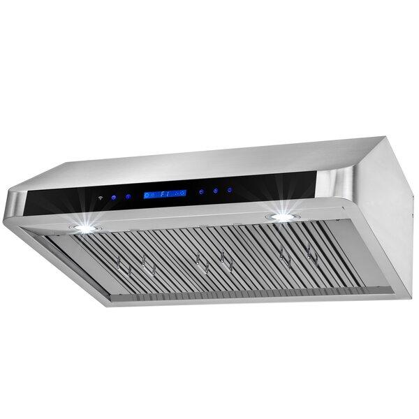 36 500 CFM Under Cabinet Range Hood by AKDY