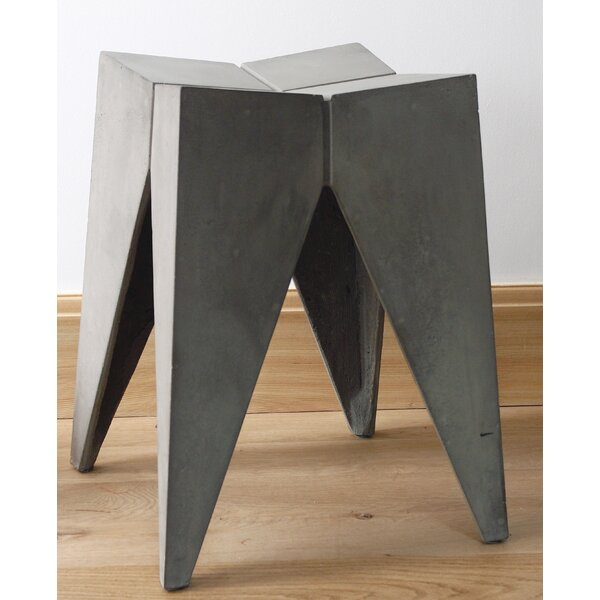 Bridge Accent Stool by Lyon Beton