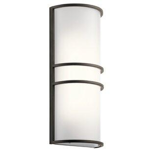 Bargain Hersey 2-Light LED Flush Mount By Latitude Run