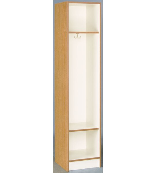3 Tier 1 Wide Coat Locker by Stevens ID Systems