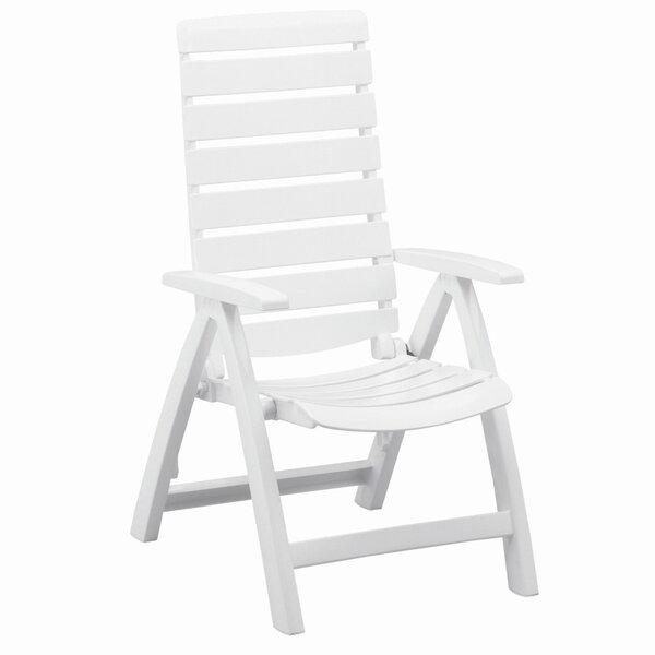 Rimini Multi-Position High Back Chair in White by Kettler USA Kettler USA