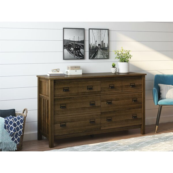 Olmstead 6 Drawer Double Dresser by Gracie Oaks