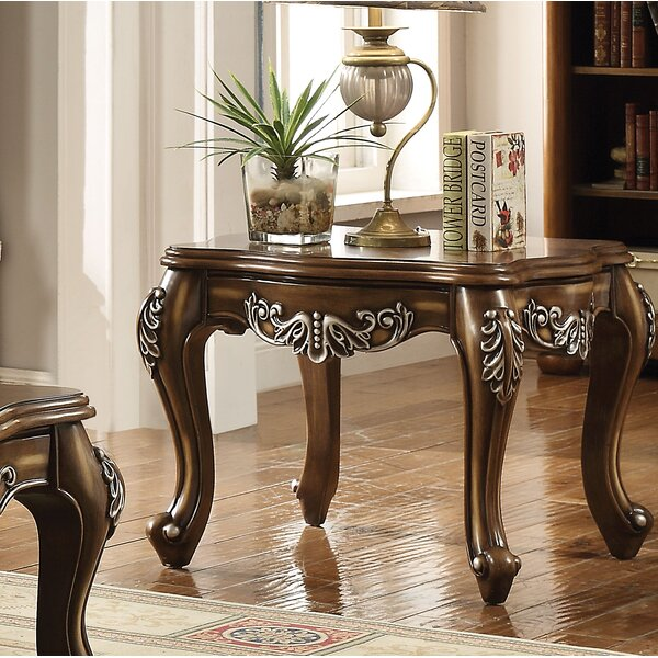 Simpson End Table By Astoria Grand