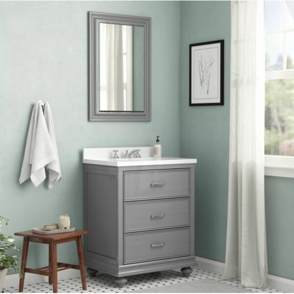 Vaughn 30 Bathroom Vanity Set with Mirror by Alcott Hill