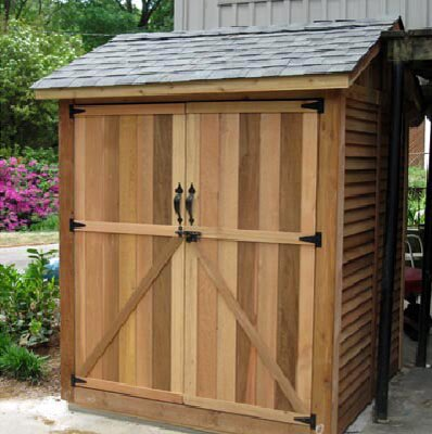 Maximizer 6 ft. W x 6 ft. D Wooden Storage Shed by Outdoor Living Today