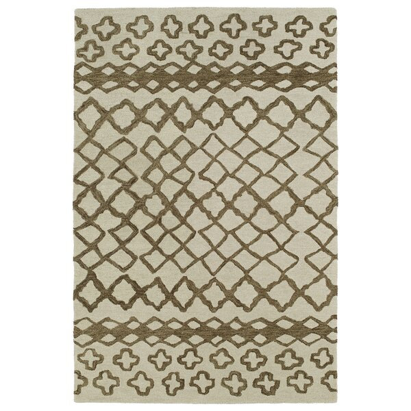 Zack Brown Geometric Area Rug by Wrought Studio