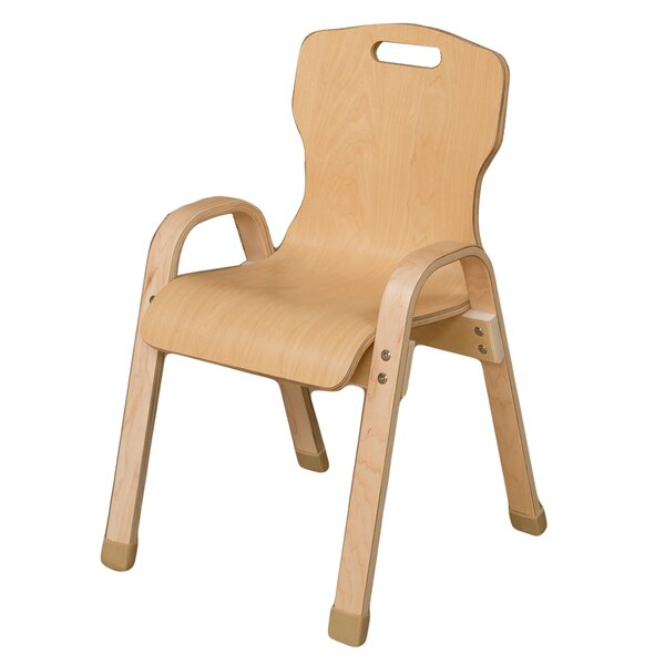 Healthy Kids Manufactured Wood Classroom Chair by Wood Designs