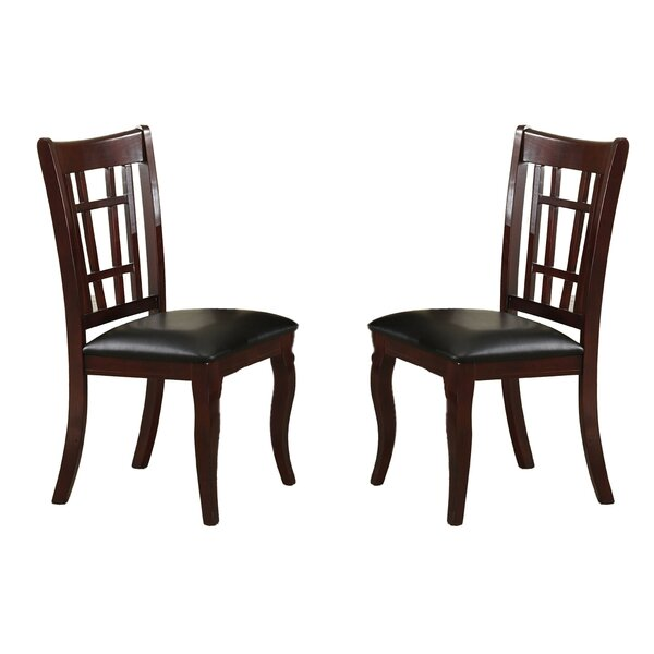 Soraya Solid Wood Dining Chair (Set of 2) by Winston Porter