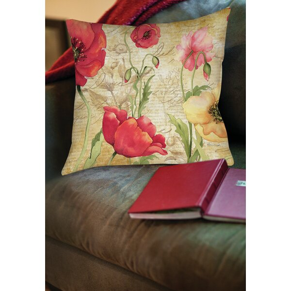 Manuela Printed Throw Pillow by Red Barrel Studio