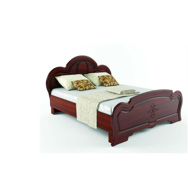 Melinda European Platform Bed with Mattress by Charlton Home