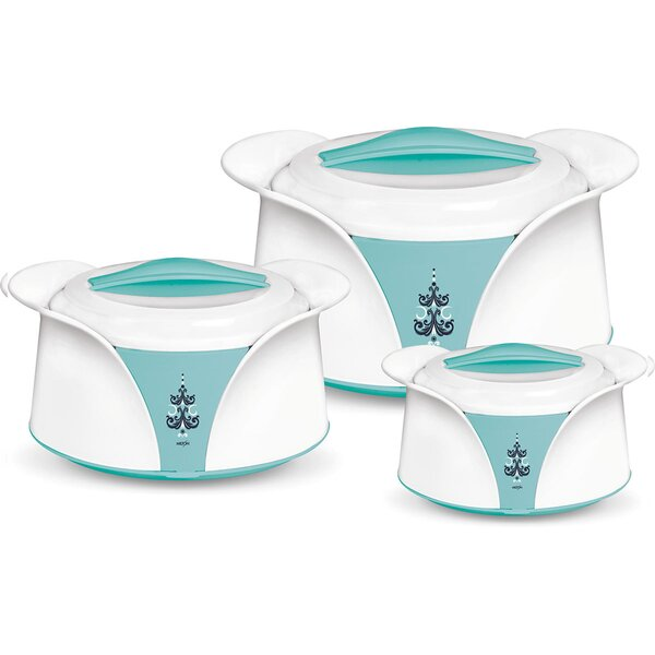 Imperial Casserole Round 3 Container Food Storage Set by Milton