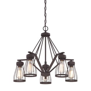 Low priced Greenside 5-Light Shaded Chandelier By Laurel Foundry Modern Farmhouse