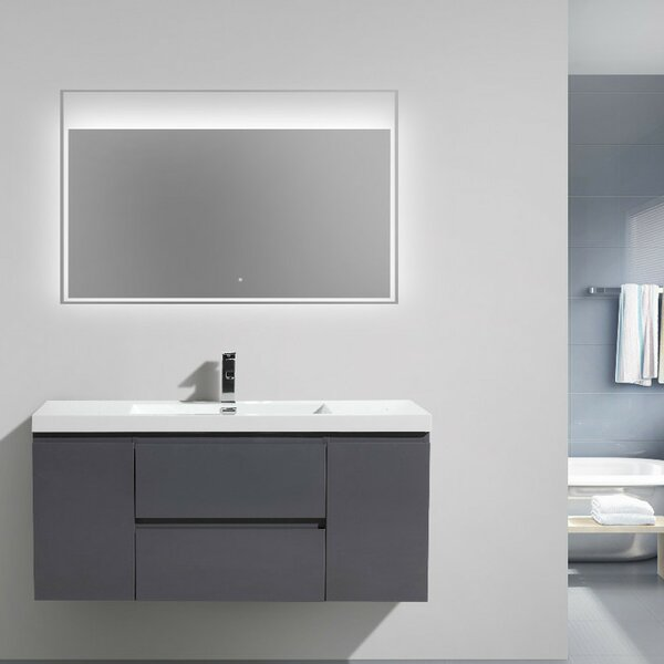 Lina 47 Single Bathroom Vanity Set by Orren Ellis
