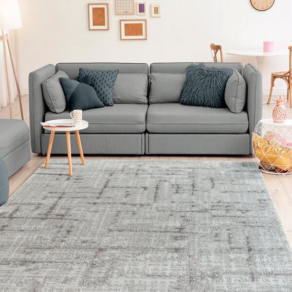 Ospina Accent Gray Area Rug by Union Rustic