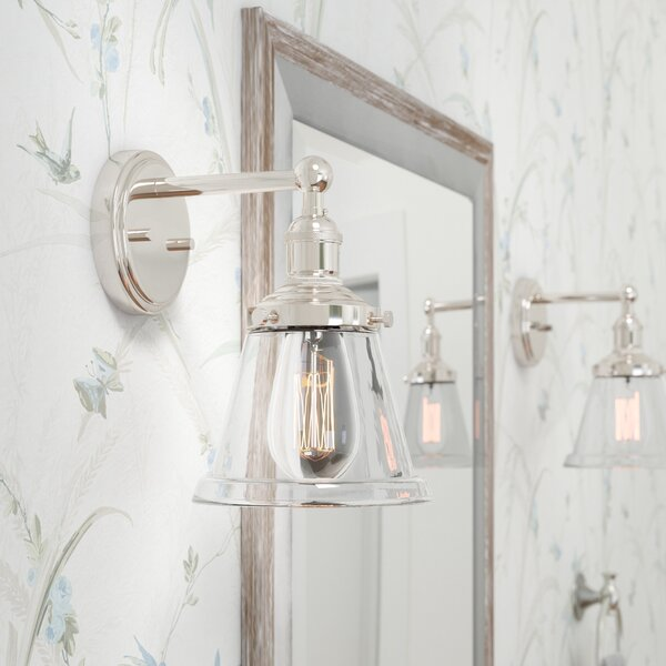 Sandy Springs 1-Light Bath Sconce by Laurel Foundr