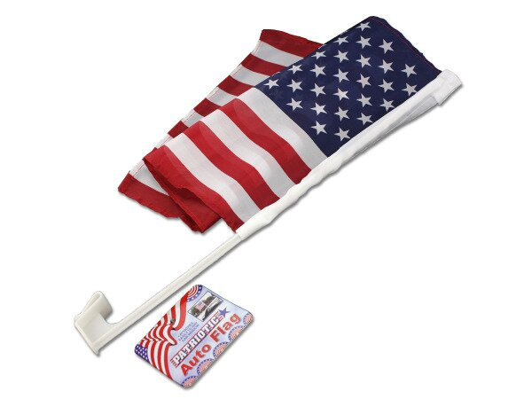 Patriotic Auto Flag (Set of 24) by Kole Imports