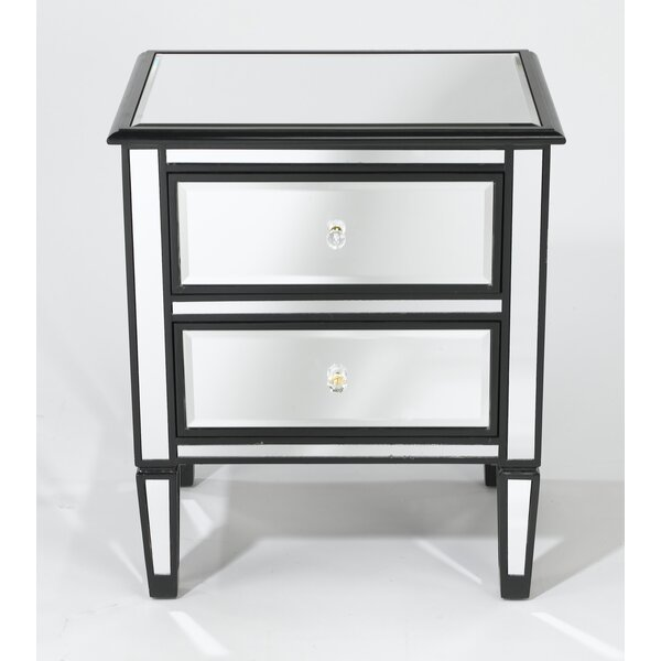 Daphine 2 Drawer Nightstand by House of Hampton