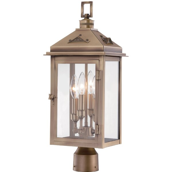 Merton Outdoor 4-Light Lantern Head by Darby Home Co