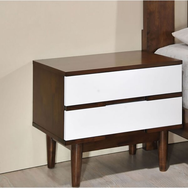 Dutcher 2 Drawer Nightstand by Corrigan Studio