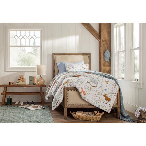 Leatrice Upholstered Standard Bed by Three Posts Teen