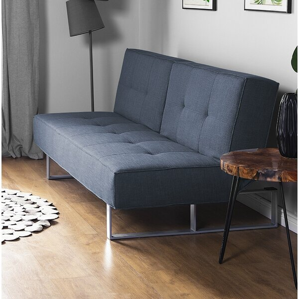 Steed Fabric Sofa Bed by Orren Ellis