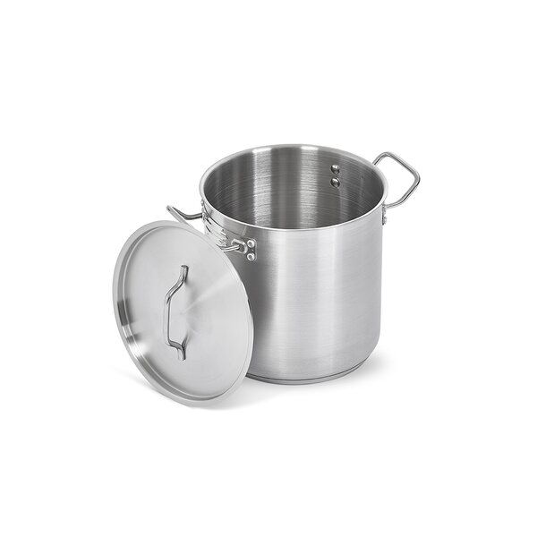 Polar Ware Stainless Steel Cheese Kettle with Padded Bottom by Artisan