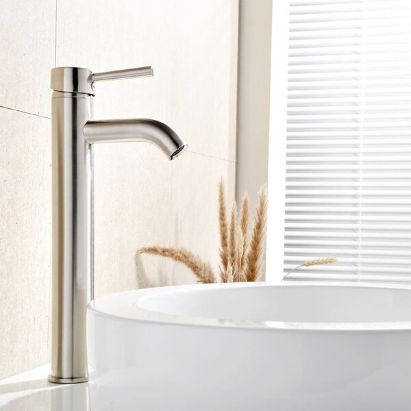 Single Handle Vessel Sink Bathroom Faucet by Comllen Comllen