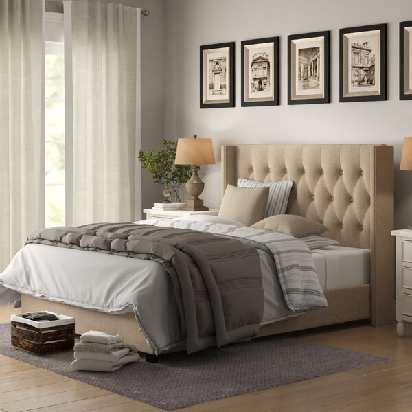 Rumford Upholstered Standard Bed by Birch Lane™ Heritage