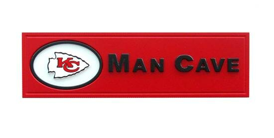 NFL Man Cave Graphic Art Plaque by Fan Creations