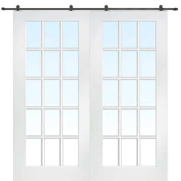 Primed 2 Panel French Door by Verona Home Design