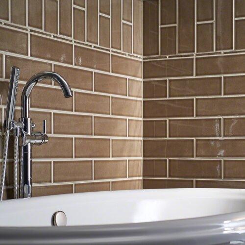 4 x 12 Ceramic Tile in Artisan Taupe by MSI