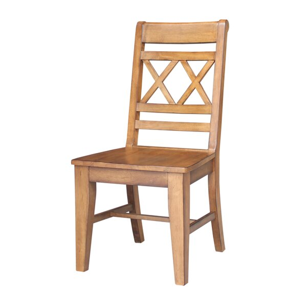 San Jose Solid Wood Dining Chair (Set of 2) by Loon Peak