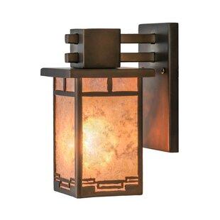 Find for 1-Light Outdoor Wall Lantern By Meyda Tiffany