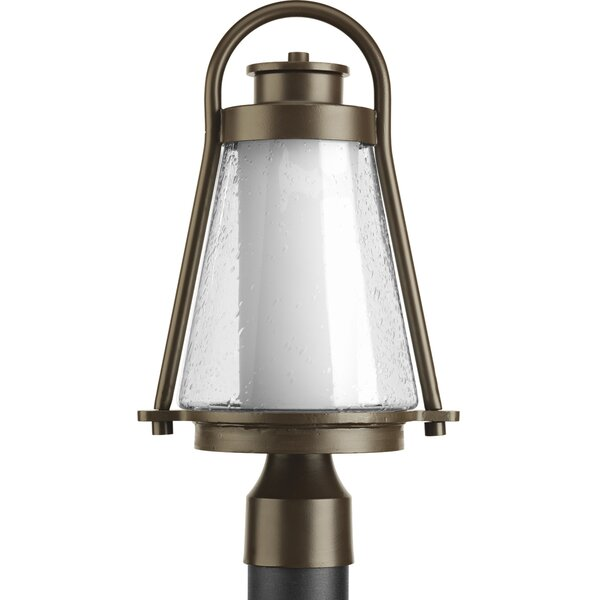 Triplehorn 1-Light Contemporary Lantern Head in Bronze by Alcott Hill