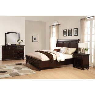Jaimes Queen Platform 4 Piece Bedroom Set By Breakwater Bay
