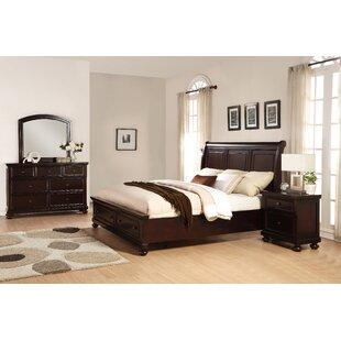 Jaimes Queen Platform 4 Piece Bedroom Set ByBreakwater Bay