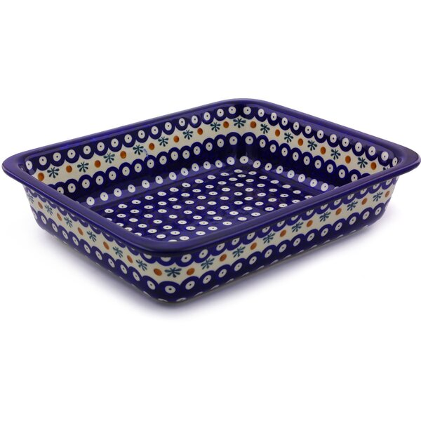 Mosquito Rectangular Non-Stick Polish Pottery Baker by Polmedia