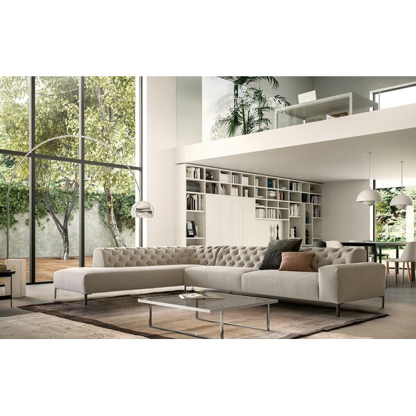 Boston Left Hand Facing Sectional by Pianca USA Pianca USA