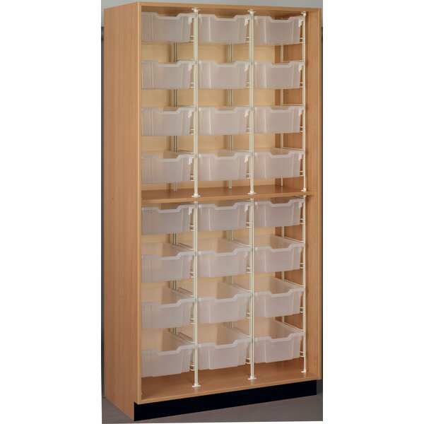 Science 24 Compartment Cubby by Stevens ID Systems
