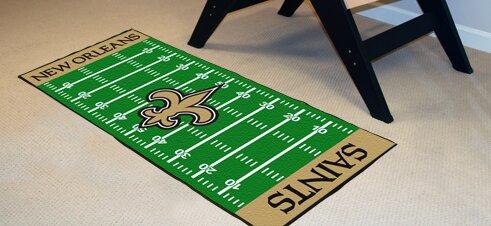 NFL - New Orleans Saints Football Field Runner by FANMATS