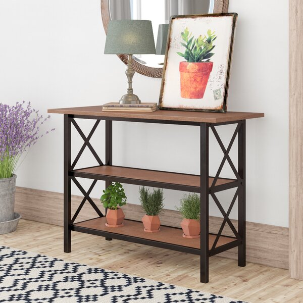 Randi Contemporary 3-Tier Console Table By Laurel Foundry Modern Farmhouse