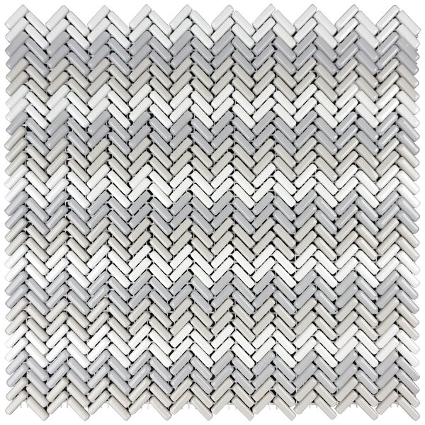 Constantine 0.18 x 0.81 Glass Mosaic Tile in Banneret by Solistone
