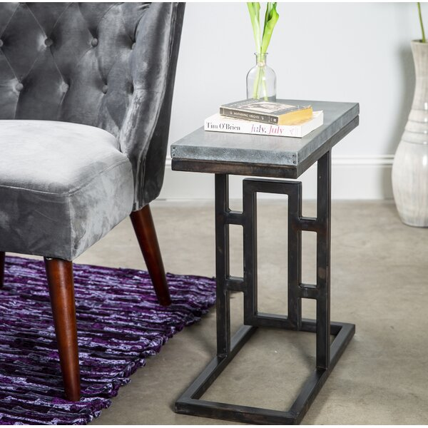 Karla End Table by 17 Stories