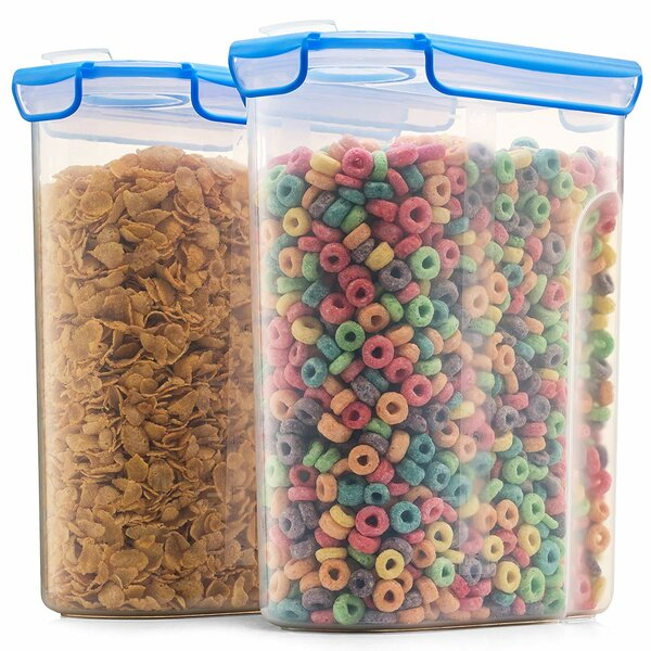 Esposito Airtight Cereal Dispenser (Set of 2) by Rebrilliant