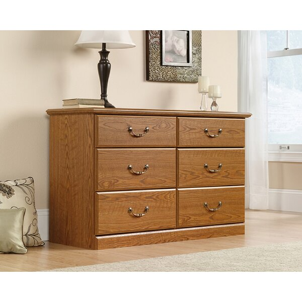 Rhode 6 Drawer Double Dresser by Red Barrel Studio