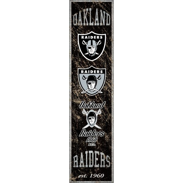 NFL Heritage Banner Sign Wall Décor by Fan Creations
