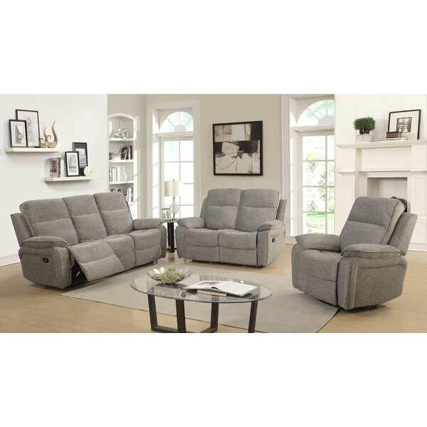 Russo Reclining Configurable Living Room Set by Charlton Home