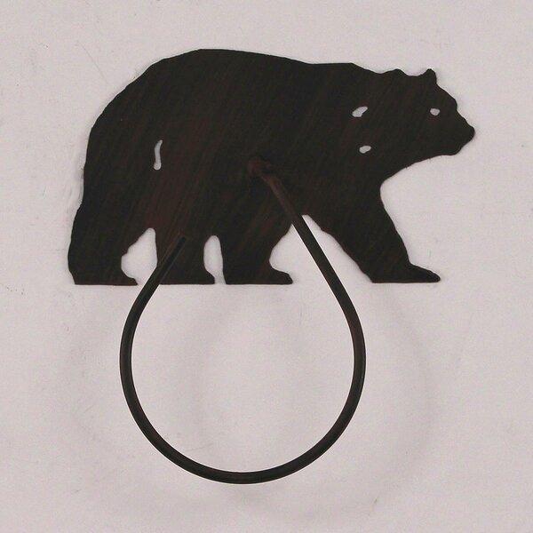 Glynis Bear 9.5 Wall Mounted Hand Towel Holder by Loon Peak