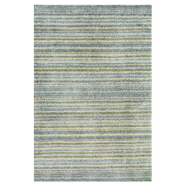 Tufted Blue Area Rug by Dash and Albert Rugs