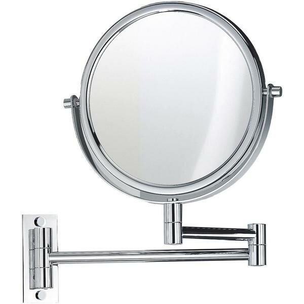 Kott 2-Arms Swivel Makeup/Shaving Mirror by Symple Stuff